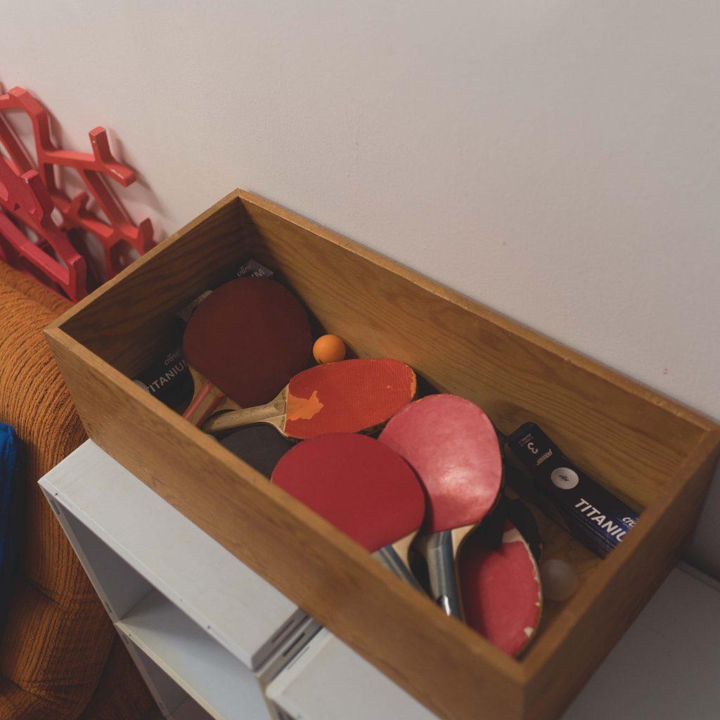 Jaffestudio Schläger und Bälle