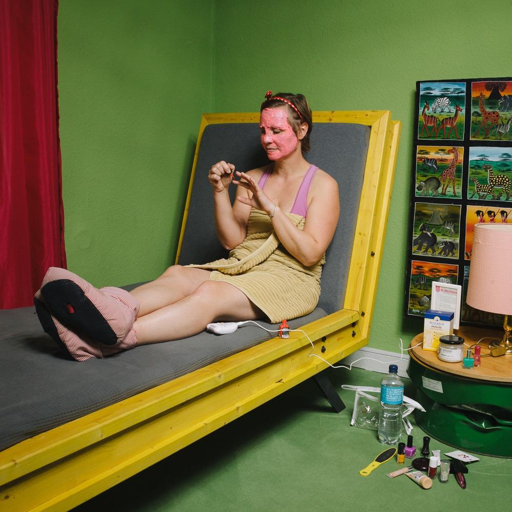 Schlupfwinkel - grünes Zimmer